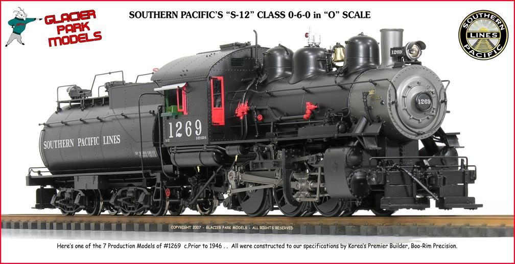 From Glacier Park Models The S P S Quot 1200 Quot Class 0 6 0 S